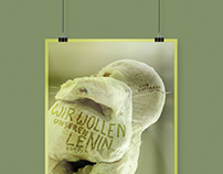 Exhibition posters for Lion Hoffmann
