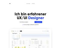 UX / UI Designer Website