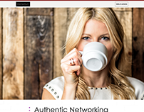 Momentum: Authentic Networking - Responsive Web Design
