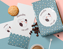 meowfee - cat coffee logo