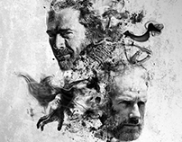 The Walking Dead Poster Design