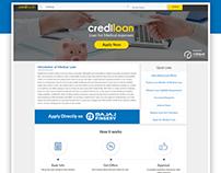 Credi Medical Loan Landing Page