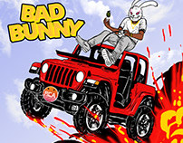 Bad Bunny single cover