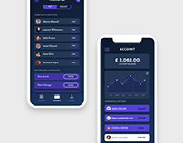 Digital Bank Key Screens - Mobile UI