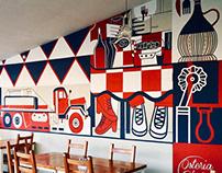 Murales Osteria Gloria