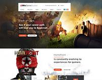 Gaming Landing Page – Free PSD