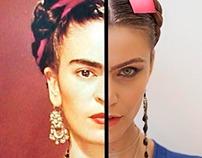 Modern Frida for female emancipation
