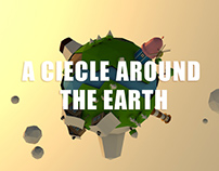 a ciecle  around  The earth
