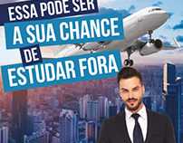 Cartaz formato A3 Faculdade IBS / Belo Horizonte