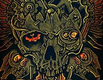 SOD- Steampunk Skull