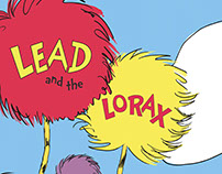 Lead and the Lorax Two Page Spread