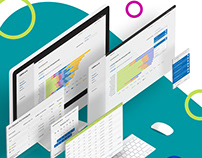 UI design - CRM dashboards