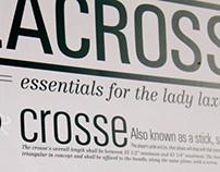 Women's Lacrosse Infographic