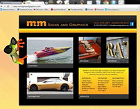 M&M Signs Website