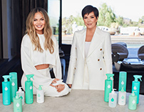 Chrissy Teigen and Kris Jenner's Safely Cleaning