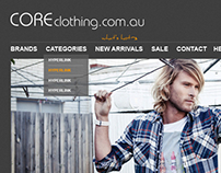 Core Clothing Website