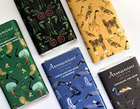 Armanini Chocolates. Fauna Argentina