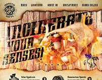 Burrito Drive Webpage Design
