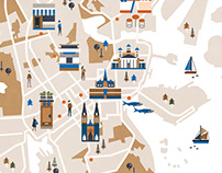 FARE Magazine Helsinki map