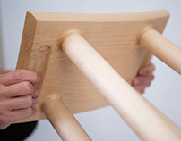 CNC Stool for Muji