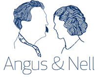 Angus & Nell - small business logo