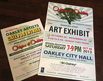 Posters for Art Exhibit
