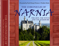 The Chronicles of Narnia, Typography DVD Package Design