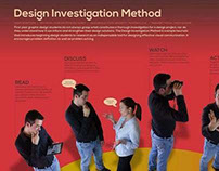 Thesis: Design Investigation Method
