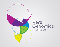 Rare Genomics Institute Re-Brand