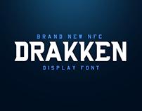 NFC DRAKKEN DISPLAY FONT