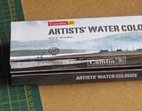 Watercolor Tubes Packaging