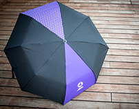 Premium: Celestial Movies Channel foldable umbrella