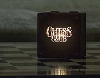 Chess Club Night Light