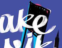 """Poster for """"Make Music Stockholm"""" festival."""