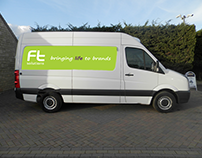 'FT Solutions Ltd. | Transport Graphic Stickers