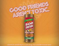 Bon Ami Print and Online ad campaign