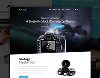 Focux - Single Product WooCommerce WordPress Theme
