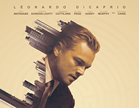 """Inception"" / fan art poster double exposition."