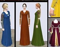 Il significato dei colori nell'abbigliamento medioevale