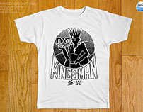THE KINGSMAN commissioned graphic for Kingsman Clothing