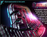 3d Logo - Multi extrusion