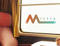 Logo of Mictra - train tickets app