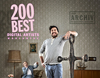 Anchorman - Lürzer's Archive 200 Best Digital Artists