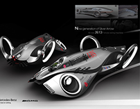 future F1 concept car (old modeling)