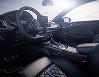 Audi RS6 Interior - CGI