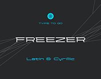 Freezer // Typeface