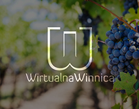 Logo for online wine store Wirtualna Winnica