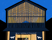 Maison Kitsuné's  Daikanyama Boutique