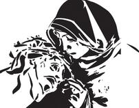 Non-Profit Logo and Catholic Prayer Card