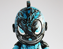"Bad Boy - Custom 6"" kidrobot mascot"